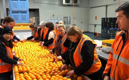 Foodbank SA Volunteer morning Jul 2018
